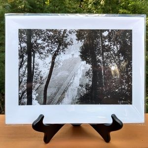 Mayan Temple Photograph Print w/ Stand